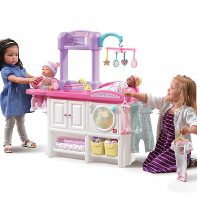 Love & Care Deluxe Nursery Step2 | Kids Childrens Pretend Play Playset