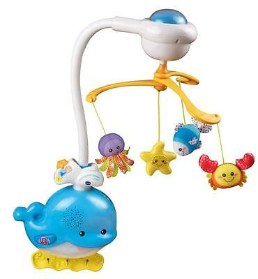 VTech Baby Ocean Sounds Mobile 2-in-1 Easily Converts to Cot Toy