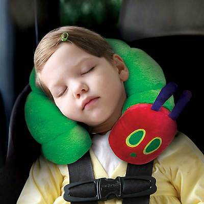 Very Hungry Caterpillar Childs/Kids Travel Car Seat Neck Roll/Pillow/Cushion