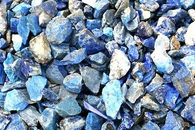 1 Kilo Lapis Lazuli Rough Crystals from Afghanistan