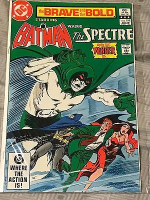 Brave and the Bold 199 VF/NM - Batman / Spectre