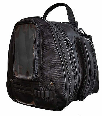 Motorcycle textile expandable waterproof Luggage back pack, tank bag