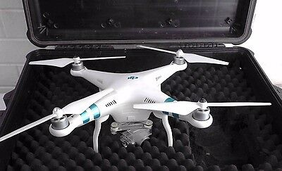 Genuine DJI Phantom 3 RC Drone Standard version w/ Camera & Battery in hard case