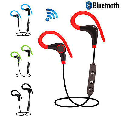 Sport Stereo Earphone Bluetooth Wireless Headphone Headset For iPhone Samsung LG