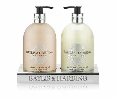 Baylis and Harding Jojoba, Silk & Almond Oil Hand Wash and Hand Lotion 500ml