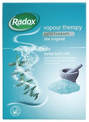 Radox Vapour Therapy Herbal Bath Salts 400g
