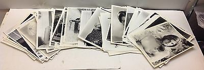 Hollywood Actresses Lot of 92 Pcs Vintage 8x10 B&W Photo MGM Mid-century Modern