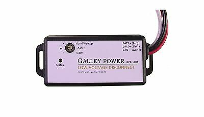 Low Voltage Battery Disconnect 20A 12V/24V Auto Detect NEW FREE SHIPPING