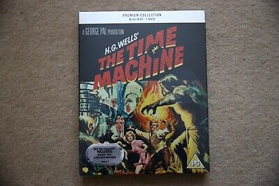 Blu-Ray The Time Machine H.g Wells Premium Exclusive Edition New Sealed Uk Stock