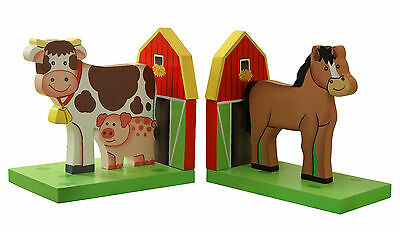 Fantasy Fields by Teamson Happy Farm Bookends