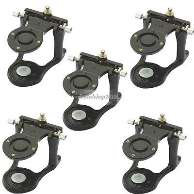 5 PCS Dental Teeth Adjustable Small Magnetic Denture Articulator Lab Equipment