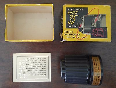 "Craftsmen's Guild ""35"" 2 Lens Viewer with Box"