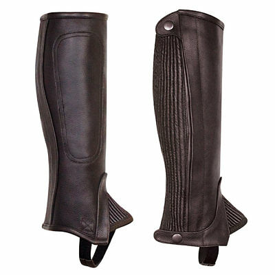 Adult Professional Medium/tall Half Chaps By Perris Leather