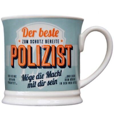 Heart and Home 00063 Retro-Becher Polizist