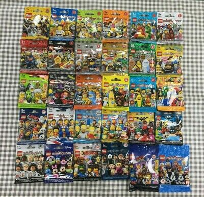 Lego minifigures series 1-17 & special editions sealed collection (1 from each)