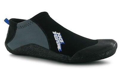 No Fear Men's Neoprene Surfing Shoe All Sizes Black New
