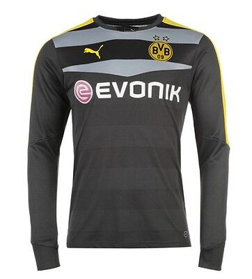 Puma Bvb Borussia Dortmund Goalie Goalkeeper Jersey all Sizes 2016 2017 New