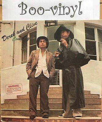 Derek And Clive Come Again 1977 Peter Cook Dudley Moore VG + Con Vinyl Record