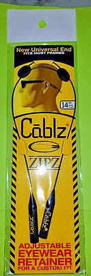 "Cablz Zipz 14"" Cable Black (10/C)"