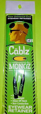 "Cablz Monoz 14"" Cable Green (10/C)"