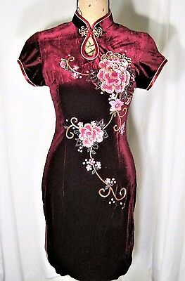 Qipao Cheong-sam Chinese Asian Oriental Style Women's Dress Handmade