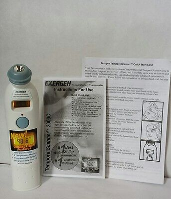 Exergen Temporal Artery Thermometer, Gently Used, Missing Cap
