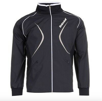 Babolat Men's Tennis Club Jacket Bllue White All Sizes S M L XL NEW