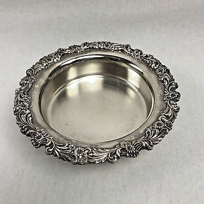 Vintage Reed & Barton Silver Plate Bowl Burgundy Collection