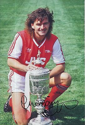 Charlie Nicholas Hand Signed Arsenal 12x8 Photo 2.