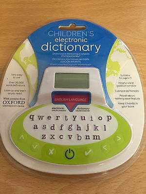 Children's Oxford Primary Electronic Dictionary / Book Mark RRP £24.99