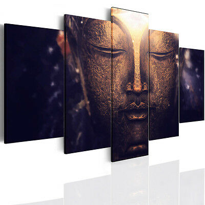 Framed Religious Buddha Buddhism Canvas Print Photo Wall Art Home Decor Pictures