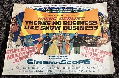 THERE'S NO BUSINESS LIKE SHOW BUSINESS 6 LCs '54 Marilyn Monroe