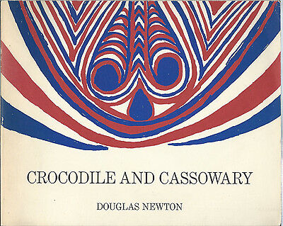 Rare Crocodile And Cassowary By Douglas Newton Museum Of Primitive Art 1971