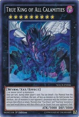 True King of All Calamities (MACR-EN046) - Super Rare - Near Mint - 1st Edition