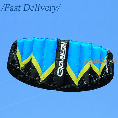 Blue 2m² 2-line Control Power Traction Kite Standard Kite Easy to Fly Beginners