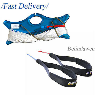 Professional Power Kite Flying Tools for Dual Line Kites Dyneema Line and Straps