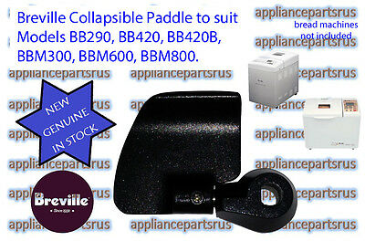 Breville Bread Maker Collapsible Paddle Models BB290 BBM300 BB420 BBM600 BBM800