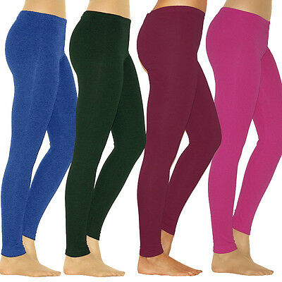 Women Yoga Fitness Leggings Running Gym Sports Cotton High Waist Pants Trousers