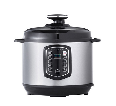 Pressure Slow Cooker Stainless Steel Electric Multi Function Kitchen Cookware