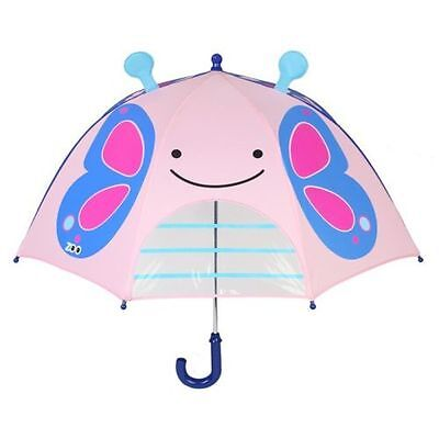 Skip*Hop Zoobrella Little Kid Umbrella - Butterfly
