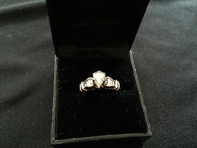 Fabulous Gold and Diamond Engagement and Wedding Ring Set