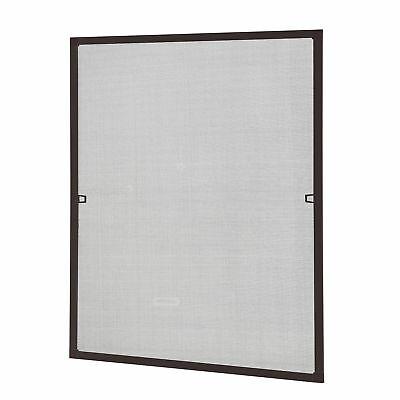 [casa.pro]® Fly Screen 80x100cm Brown Insect Protection Window Mesh