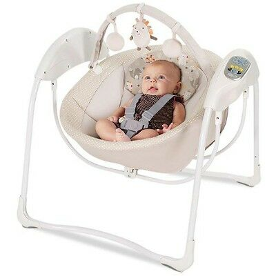 Graco Glider Swing, Baby Bouncer with Toybar Infant Musical Rocker