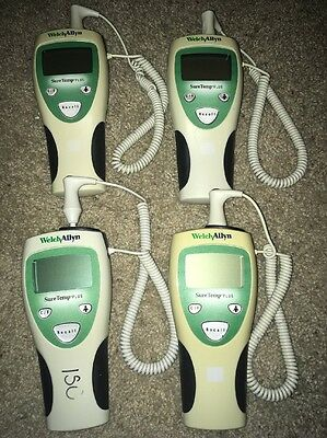 Welch Allyn SureTemp Plus Thermometers (SEE DESCRIPTION)