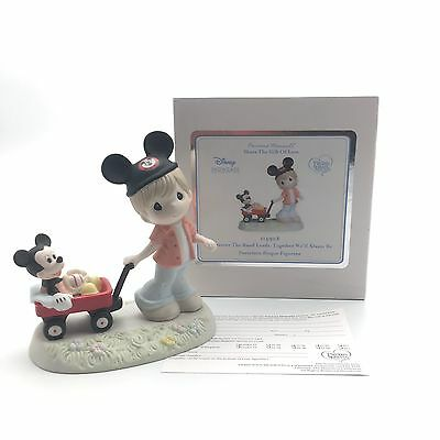 Precious Moments Disney Mickey Wherever The Road Leads, Together 114908 COMPLETE