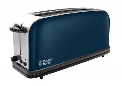 Russel Hobbs Colours Royal Blue Langschlitz-Toaster 21394-56