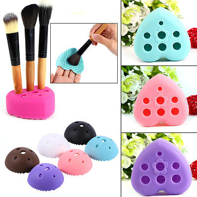 Silicone Cleaning Glove Makeup Washing Brush Scrubber Board Brush Nettoyeur OB