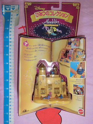 POLLY POCKET Tiny Collection Disney ALADDIN Playset Figures Character Mattel Jap