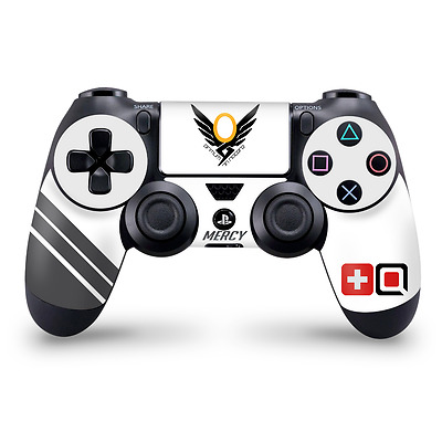 Mercy Fan Art Overwatch theme Playstation 4 Controller Skin PS4 Decal Sticker