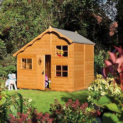 Rowlinson Playaway Swiss Cottage Childrens Garden Play House